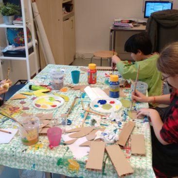 Kunstkids bij BSO, speeltuin en buurthuis
